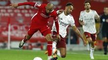 Aubameyang 'Menghilang' di Laga Liverpool vs Arsenal