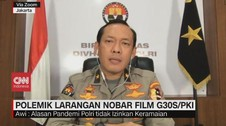 VIDEO: Polemik Larangan Nobar Film G30S/PKI