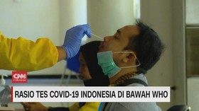 VIDEO: Rasio Covid-19 di Indonesia di Bawah WHO