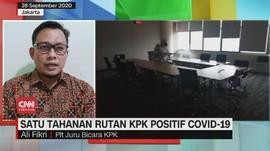 VIDEO: Satu Tahanan Rutan KPK Positif Covid-19