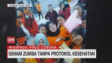 VIDEO: Senam Zumba tanpa Protokol Kesehatan