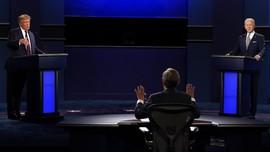 Trump Terus Menyelak Saat Debat, Biden Bilang 'Shut Up Man'