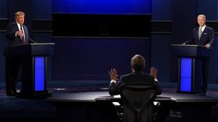 Aturan Mikrofon Debat Pilpres AS Diperketat Cegah Interupsi