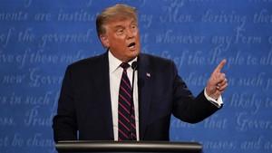 Trump Tetap Salahkan China soal Covid-19 dalam Debat