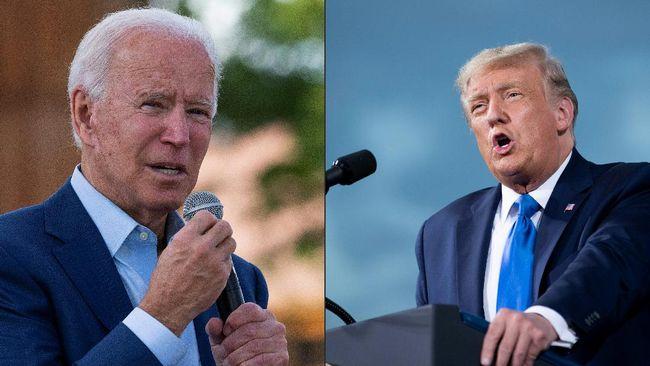 Calon presiden AS Donald Trump dan rivalnya dari Partai Demokrat, Joe Biden saling serang menjelang debat perdana pilpres di Cleveland, Ohio.