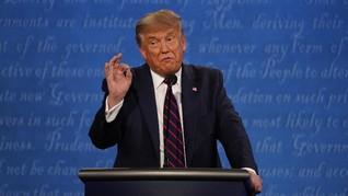 Trump Bantah Dapat Uang dari Presiden Rusia Putin dalam Debat