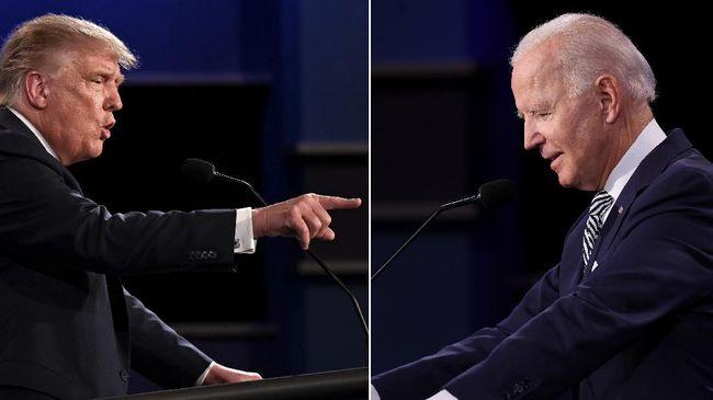 Komisi Debat Presiden (CPD) Amerika Serikat membatalkan debat kedua antara Donald Trump dan Joe Biden setelah Trump tertular Covid-19.