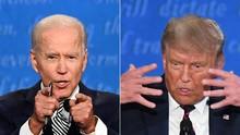 Poin-poin Penting Debat Perdana Trump-Biden
