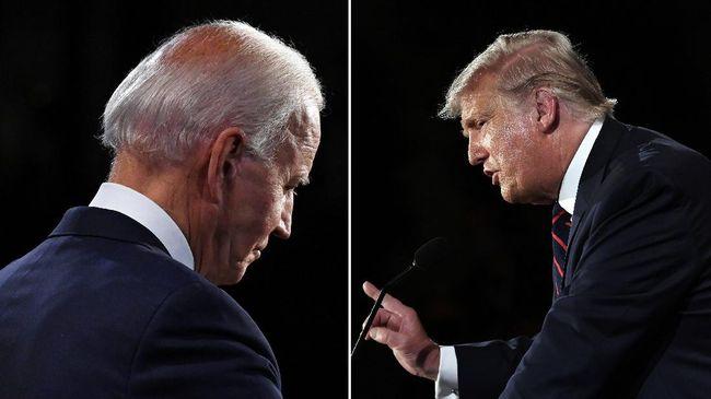 Presiden Donald Trump dalam putaran terakhir debat capres AS mengaku memiliki hubungan sangat baik dengan pemimpin Korut Kim Jong-un.