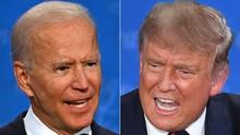 Debat Terakhir Trump-Biden, Sekat Kaca Akrilik Ditiadakan