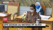 VIDEO: DPR Sahkan UU Meterai Rp 10.000