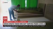 VIDEO: Graha Wisata Taman Mini Siap Tampung Pasien Covid-19