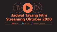 INFOGRAFIS: Jadwal Tayang Film Streaming Oktober 2020