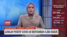 VIDEO: Jumlah Positif Covid-19 Bertambah 4.284 Kasus