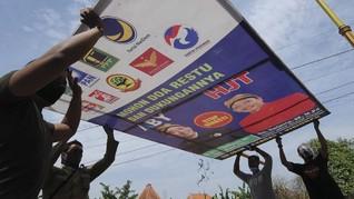 Sebulan Kampanye Pilkada, Pelanggaran Protokol Nyaris Seribu