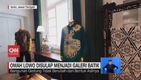 VIDEO: Omah Lowo Disulap Menjadi Galeri Batik