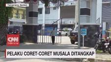 VIDEO: Pelaku Coret-Coret Musala Ditangkap