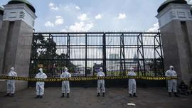 FOTO : Demo Tolak Omnibus Law Ciptaker di Tengah Pandemi