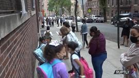 VIDEO: Sekolah di New York Kembali Dibuka