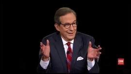 VIDEO: Moderator Debat Capres Minta Trump Kurangi Interupsi