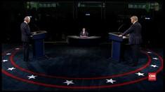 VIDEO: Momen-momen Penting Saat Debat Trump-Biden