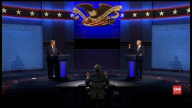 VIDEO: Momen Trump-Biden Saling Interupsi di Debat Capres AS