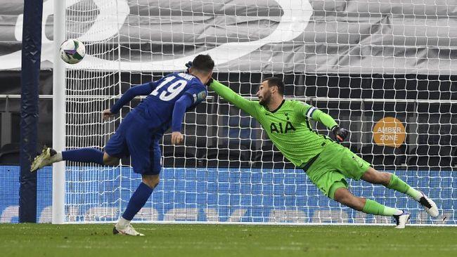 Berikut lima fakta di balik kemenangan Tottenham Hotspur atas Chelsea di babak keempat Piala Liga Inggris 2020/2021.