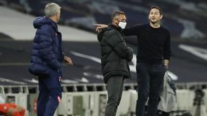 Cekcok, Bukti Mourinho dan Lampard Lupakan 'Manis' Masa lalu