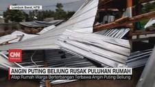 VIDEO: Angin Puting Beliung Rusak Puluhan Rumah