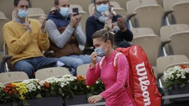 Petenis Dunia Simona Halep Positif Virus Corona