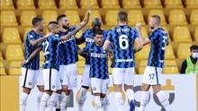 Hasil Liga Italia: Lukaku Dua Gol, Inter Hajar Benevento 5-2