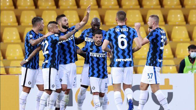 Inter Milan meraih kemenangan telak 5-2 atas tim promosi Benevento dalam laga lanjutan Liga Italia.