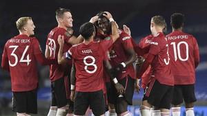 FOTO: Kemenangan Identik MU dan Man City di Piala Liga