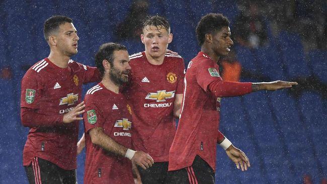 Berikut prediksi Manchester United vs Arsenal, Minggu (1/11), yang menjadi pertandingan besar pada pekan ketujuh Liga Inggris.