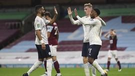 Piala Liga Inggris: Tekuk Burnley, Man City ke Perempat Final