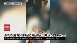 VIDEO: Dituduh Penyerang Ulama, 2 Pria Dikeroyok