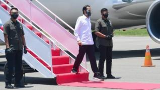 Jokowi Kunjungi Labuan Bajo Tinjau Sejumlah Proyek