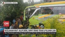 VIDEO: Kecelakaan Maut Jalur Dieng, 4 Orang Tewas