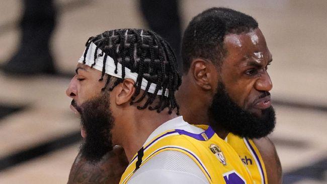 Los Angeles Lakers sukses mengalahkan Miami Heat 116-98 pada gim pertama final NBA 2020.