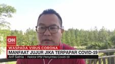 VIDEO: Manfaat Jujur jika Terpapar Covid-19