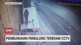 VIDEO: Pembunuhan Pemulung Terekam CCTV