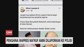 VIDEO: Penghina Wapres Maruf Amin Dilaporkan ke Polisi