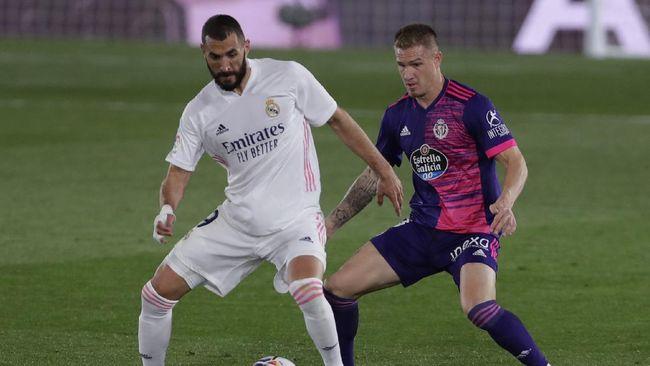 Klasemen Liga Spanyol mengalami perubahan setelah Real Madrid menang tipis 1-0 atas Valladolid di Stadion Alfredo Di Stefano.