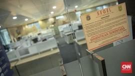 FOTO : Sidak Protokol Kesehatan Perkantoran