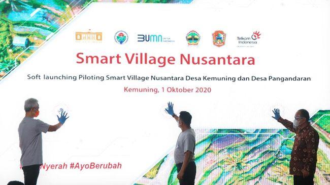 Pengembangan smart village atau desa cerdas di Indonesia dinilai dapat mendorong peningkatan aktivitas dan produktivitas ekonomi di desa-desa.