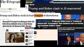 VIDEO: Dunia Internasional Komentari Debat Trump-Biden