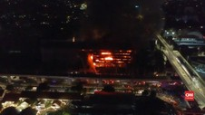 VIDEO: Polisi Gelar Perkara Kebakaran Gedung Kejaksaan Agung