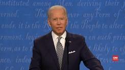 VIDEO: Momen Joe Biden Ucapkan Insyaallah di Depan Trump