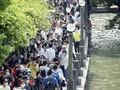 FOTO: Kerumunan Ratusan Juta Orang di Libur Panjang China