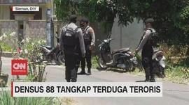 VIDEO: Densus 88 Tangkap Terduga Teroris di Sleman
